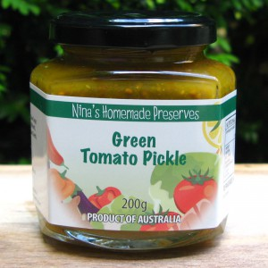 Pickled Green Tomato