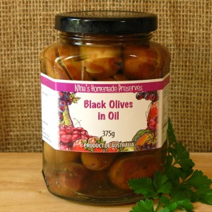 Black Olives in Oil